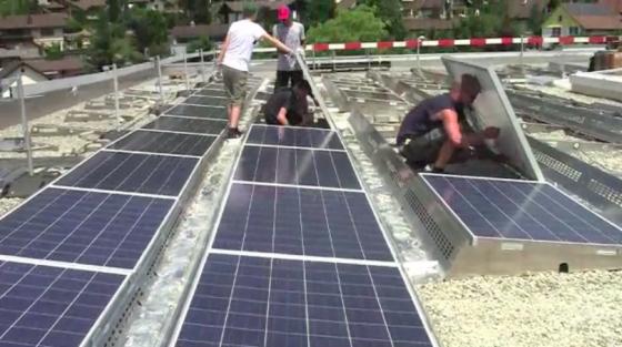 Jede Zelle zählt - Solarenergie macht Schule in Turbenthal!