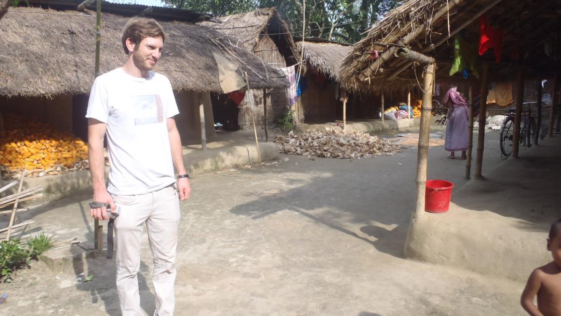 Michael Wipf als Zivi in Bangladesch