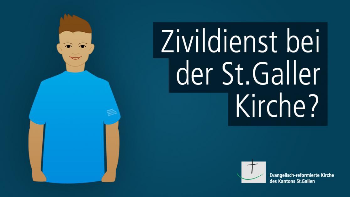 Zivildienst bei der evang.-ref. Kirche des Kantons St.Gallen